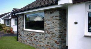 Neutral 30 solar window film application on lounge window Bickington Barnstaple Devon Tinting Express Ltd