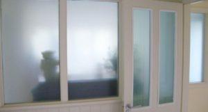 3M Mint Green frost window film. Dartmouth Devon Tinting Express Ltd
