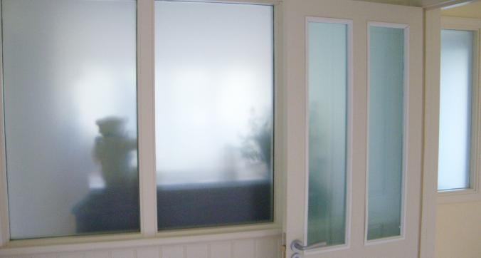 3M Mint Green frost window film. Dartmouth Devon Tinting Express Ltd