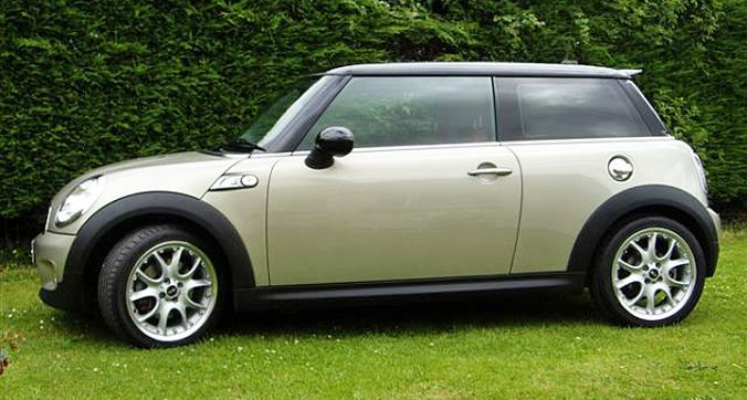 Mini Cooper auto car window tinting Tinting Express Fremington Barnstaple