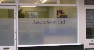 Company Graphics and frosted window film Padstow Cornwall Tinting Express Ltd