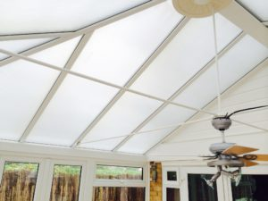 Opaque polycarbonate glare and heat reducing window film. Sawbridgeworth Essex. Tinting Express Devon