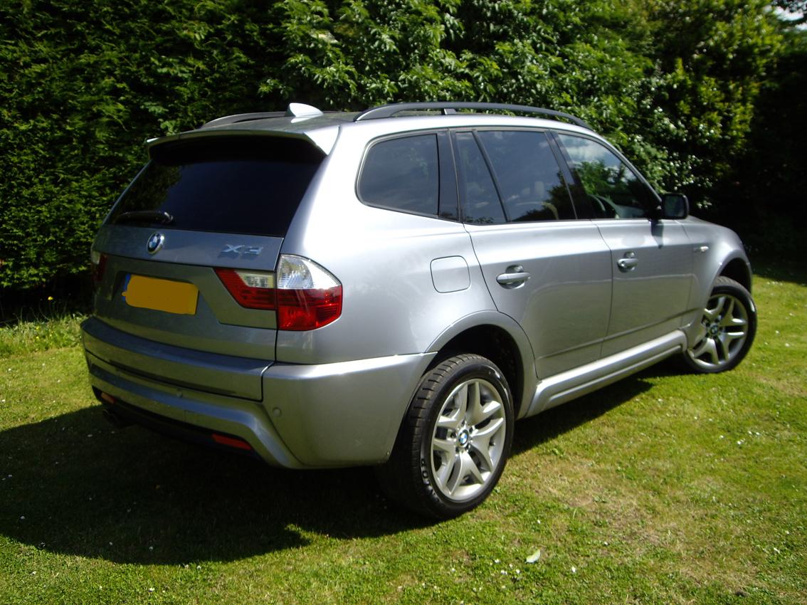 BMW X3 car window tint Fremington Barnstaple Devon Tinting Express
