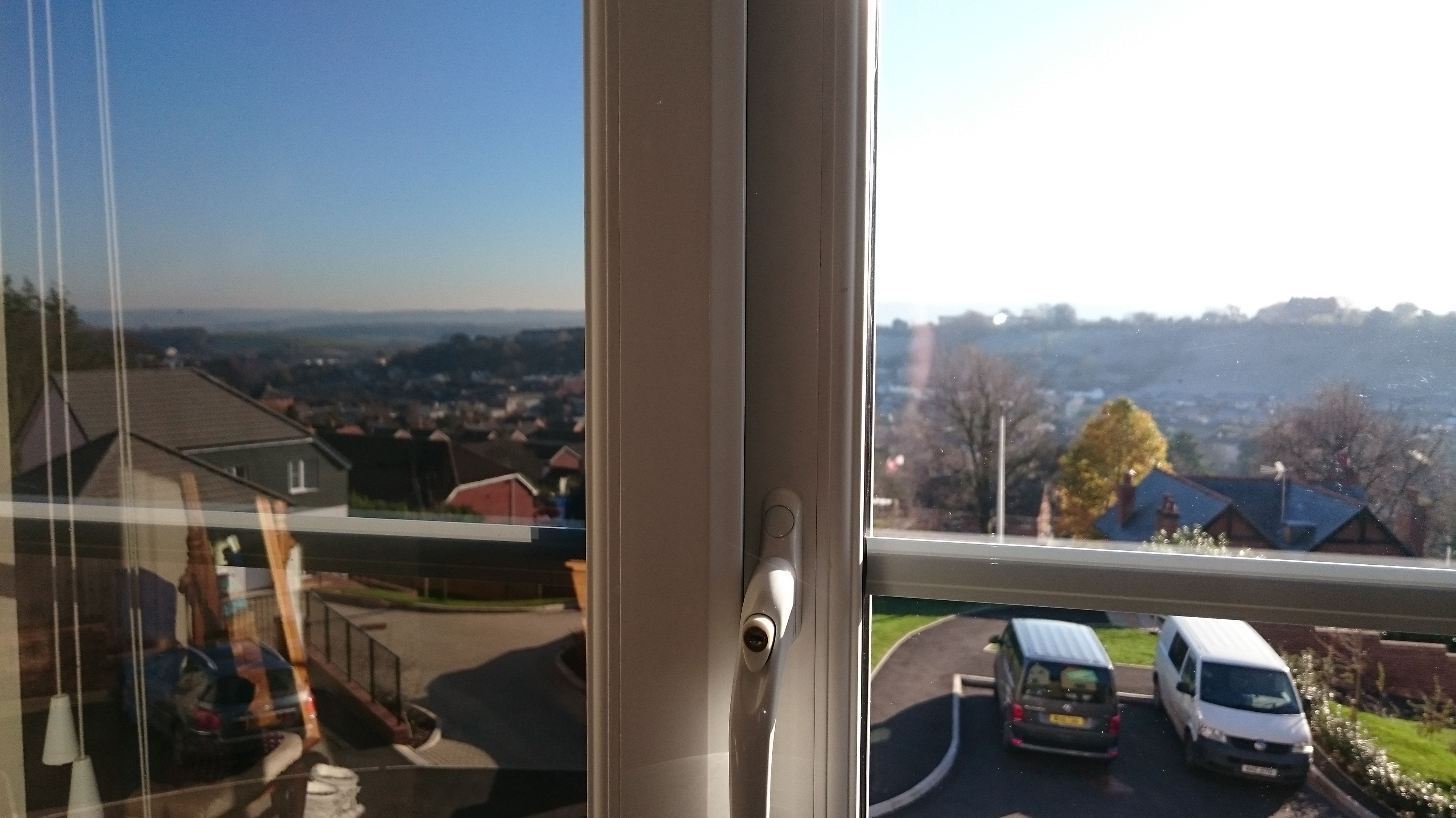 Inside looking out Neutral 20 Crediton house window tinting . Tinting Express Barnstaple