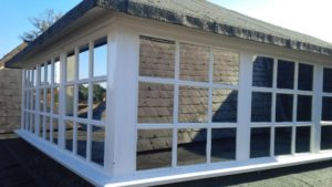 External Silver 20 solar window film application. Uffculme Devon Tinting Express Ltd