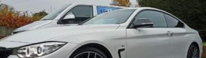BMW 4 Series window tinting . Tinting Express Barnstaple