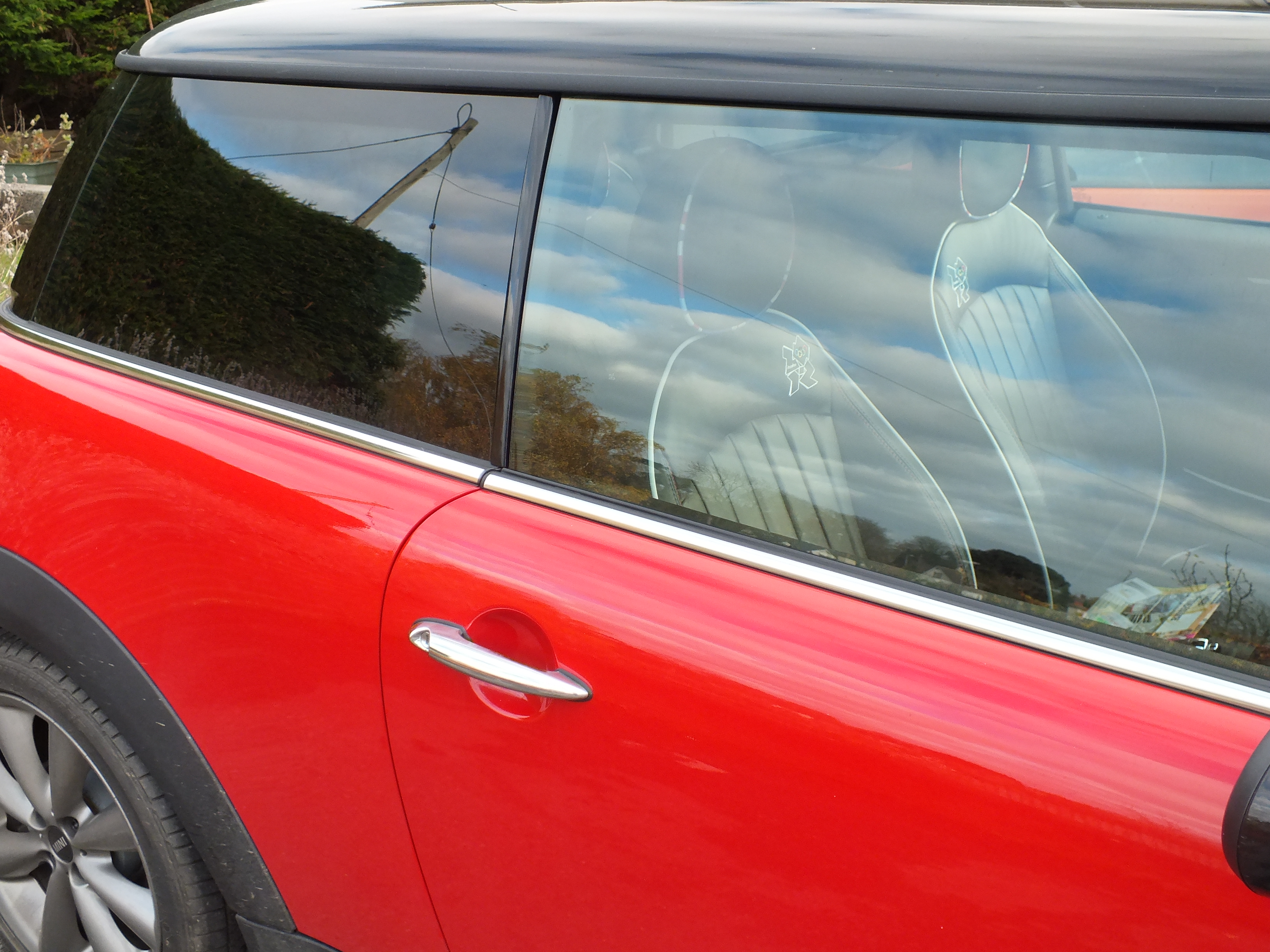 Mini window tinting Barnstaple Tinting Express