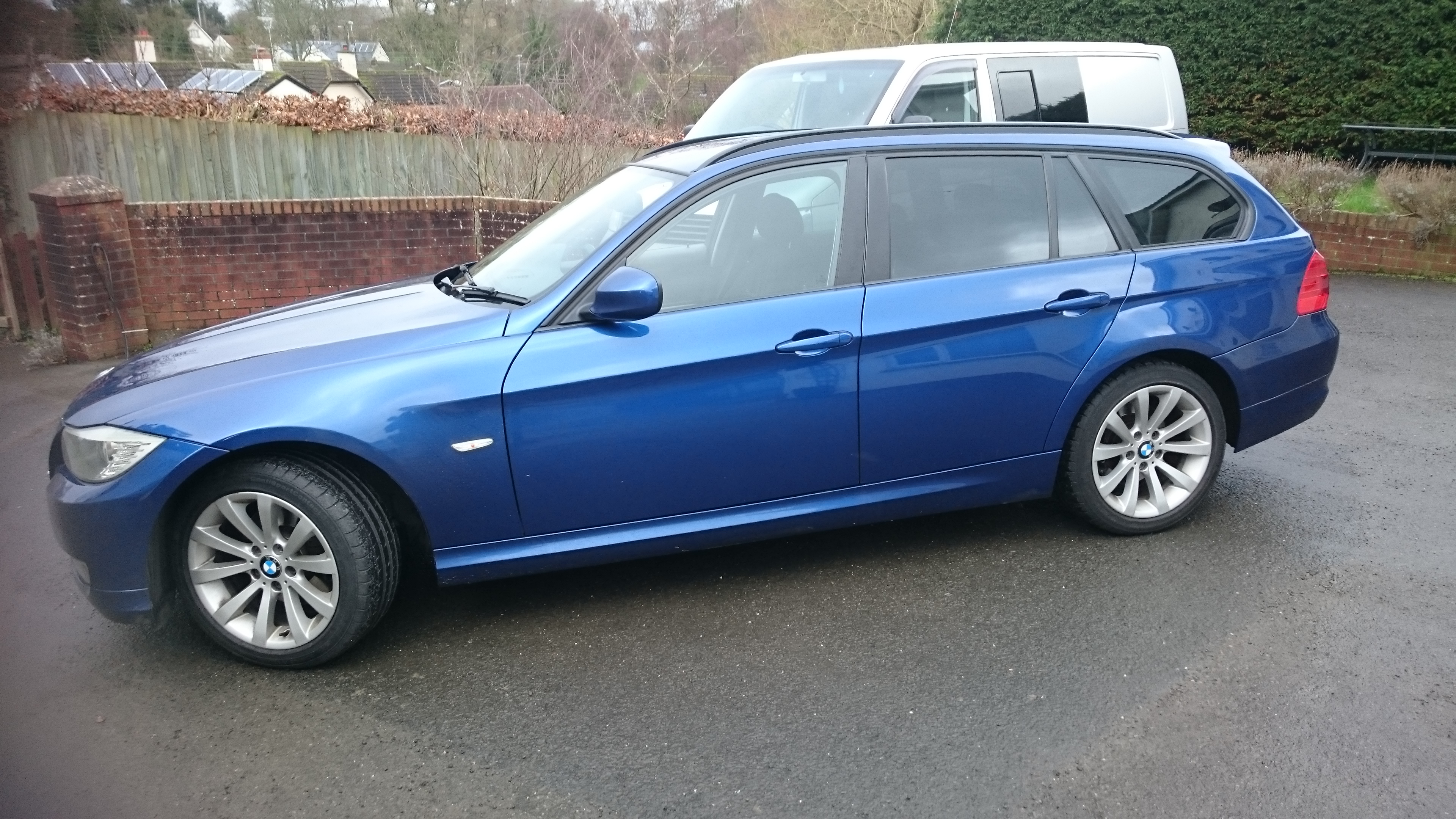 BMW 3 Series Estate window tinting Fremington Barnstaple