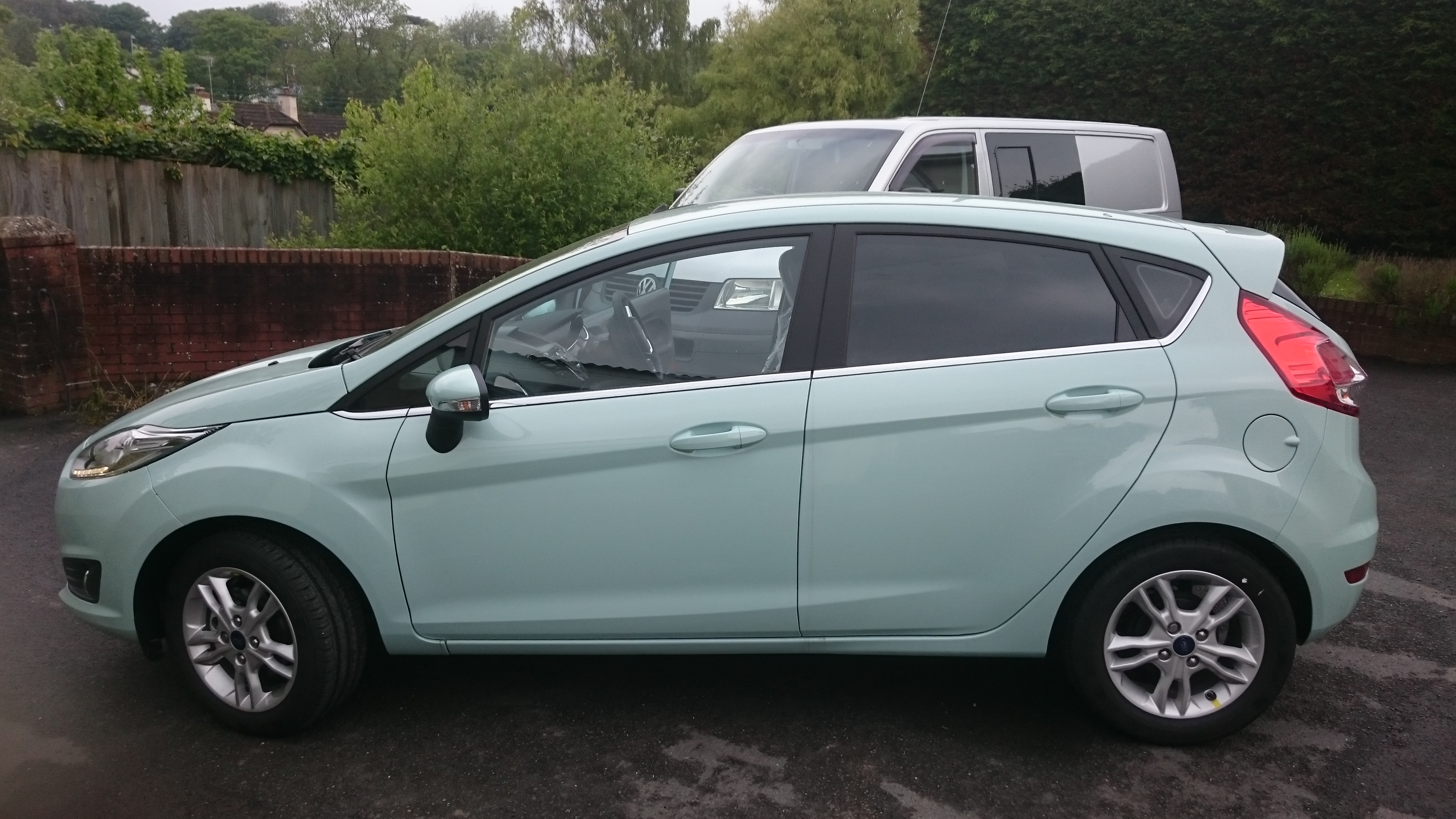 Ford Fiesta 15% grade window tint. Tinting Express Ltd