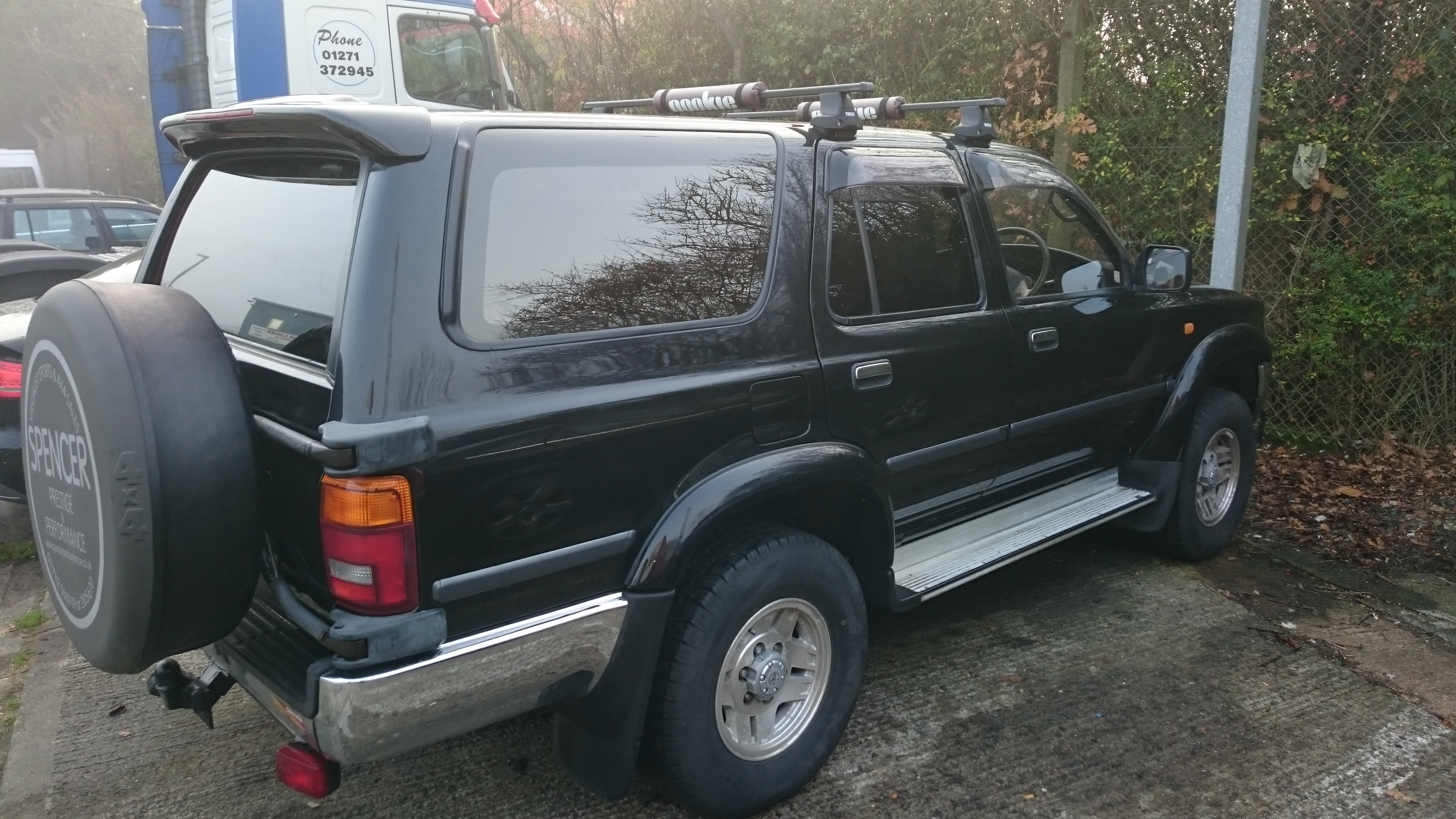 Toyota Hilux Surf HP5 window tint Tinting Express Barnstaple