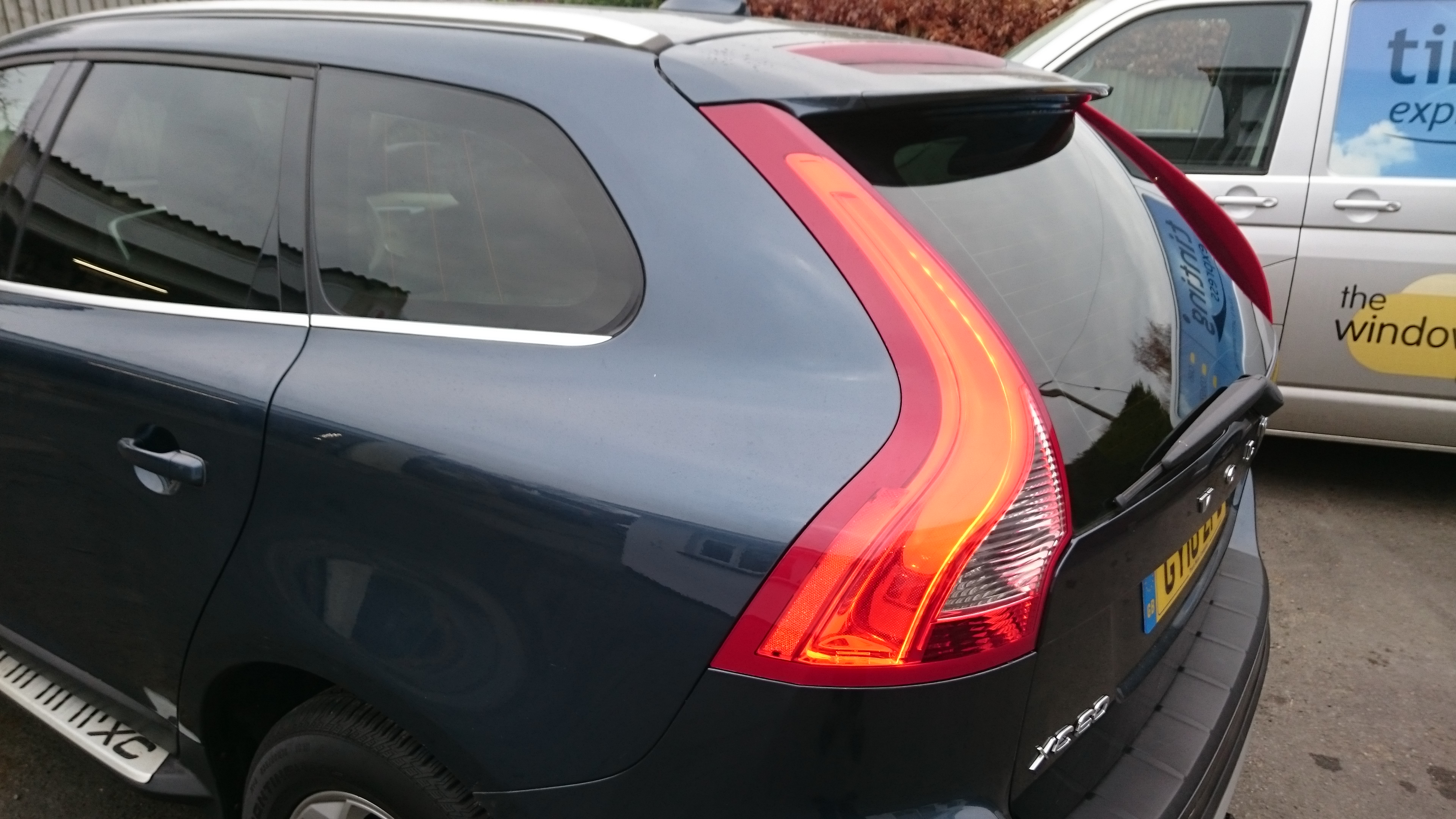 Volvo XC60 HP20 auto window tinting Tinting Express Ltd Barnstaple