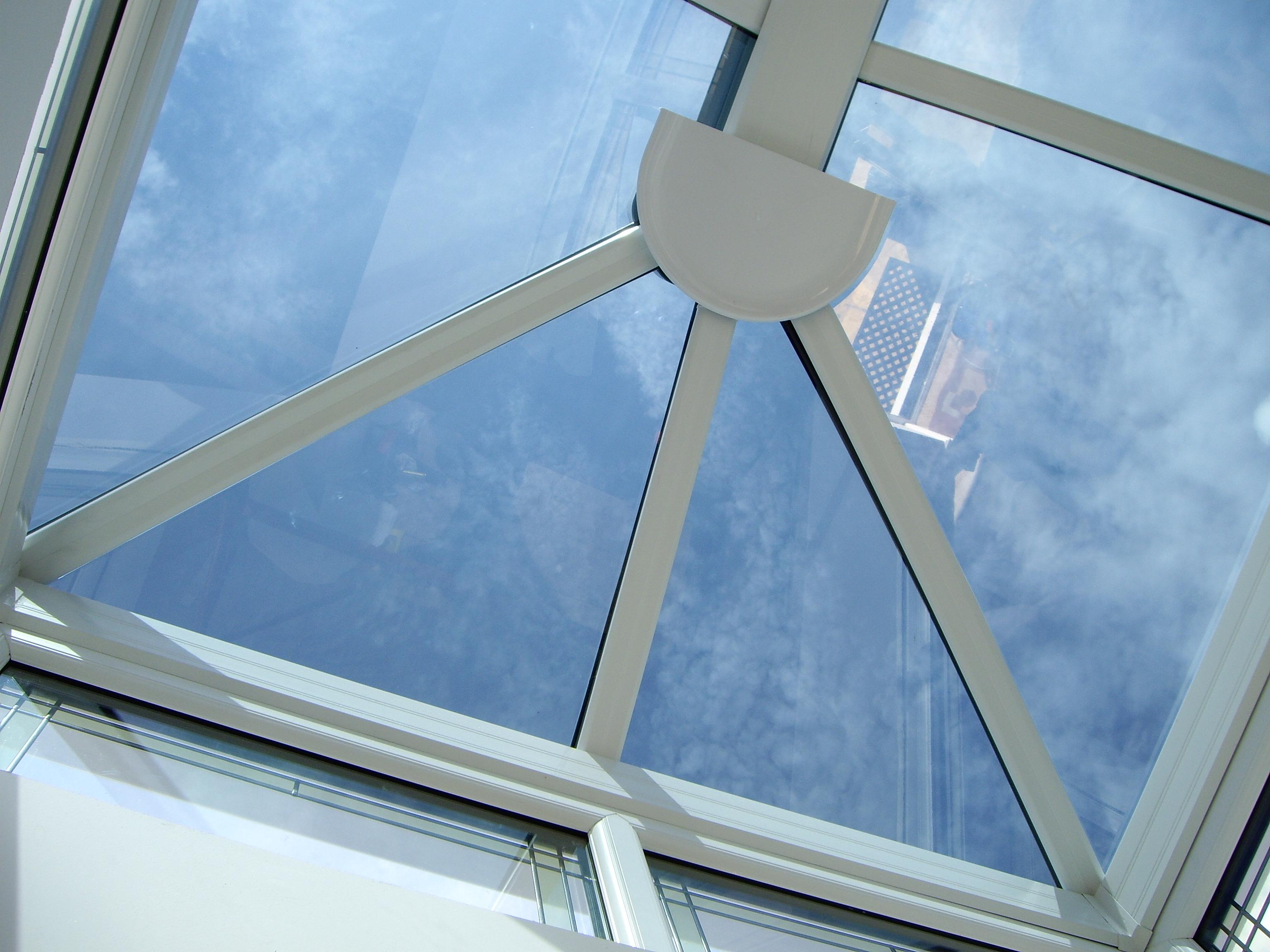 Torquay Lantern glass roof Dual 15 solar window film Tinting Express Ltd
