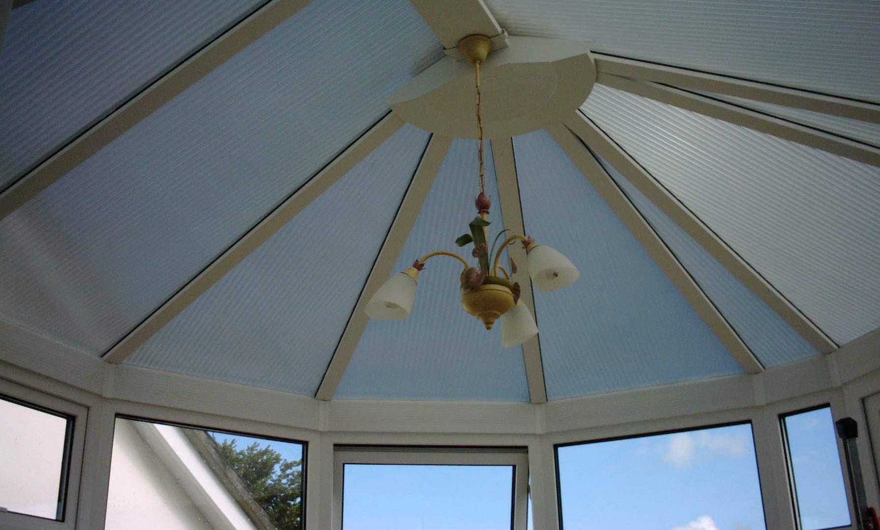 Polycarbonate Conservatory Roof Silver Shade for plastic Barnstaple Devon Tinting Express