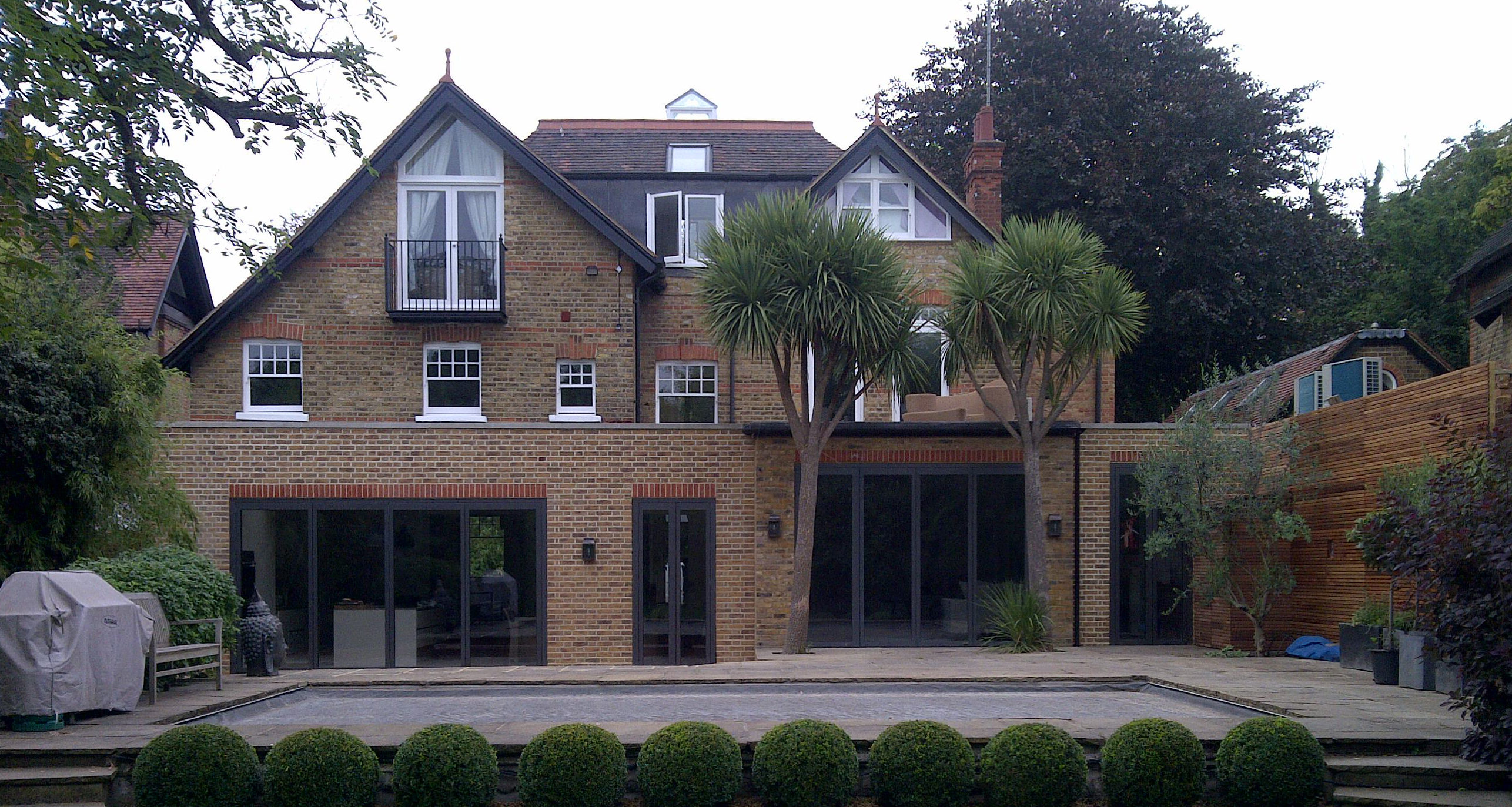 UV Protect Solar Window Film applied to prestigious property in London UK Tinting Express Ltd Devon