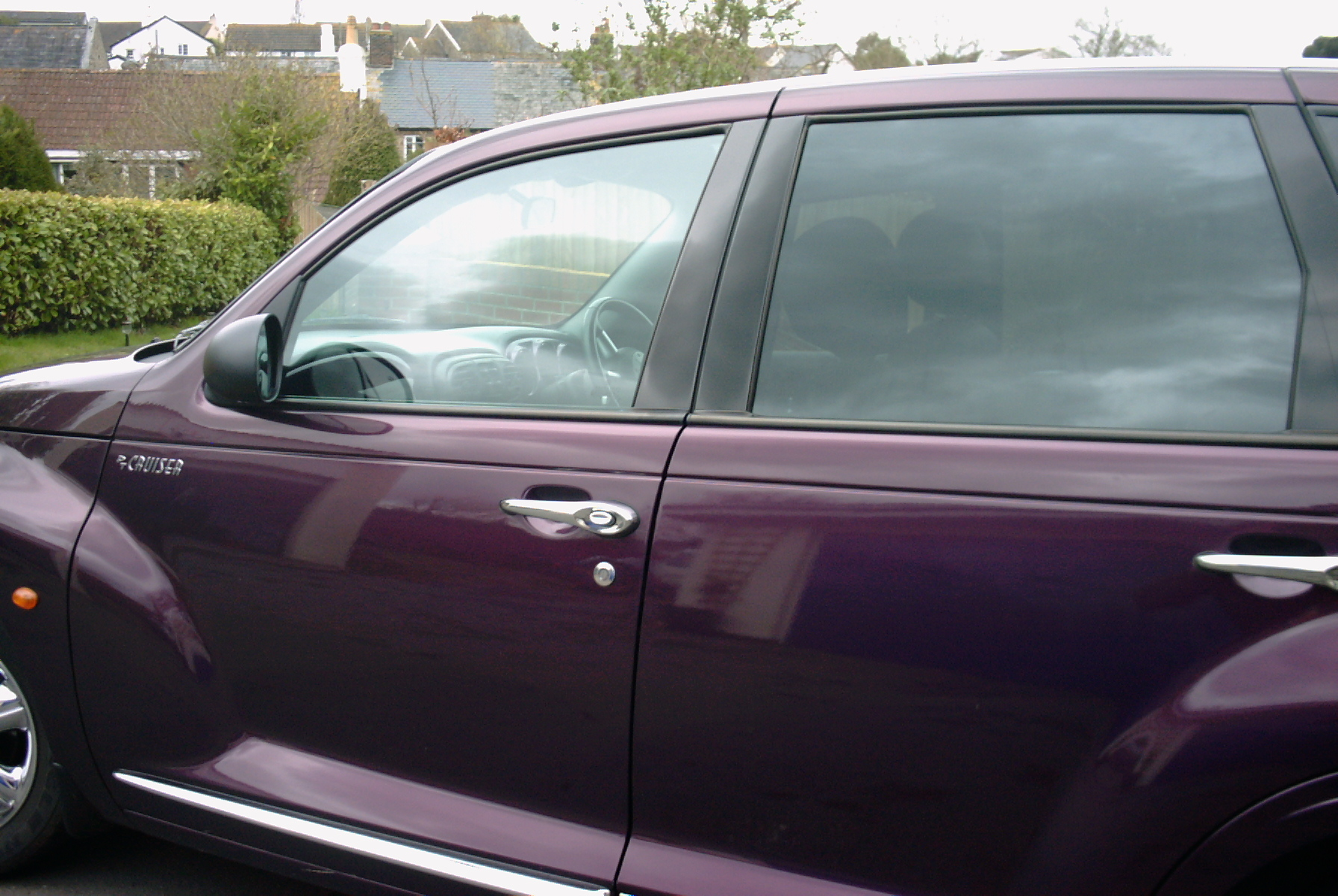 Chrysler PT Cruiser window tinting Barnstaple Devon Tinting Express