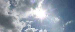 Fremington sky 21052017. Tinting Express Barnstaple