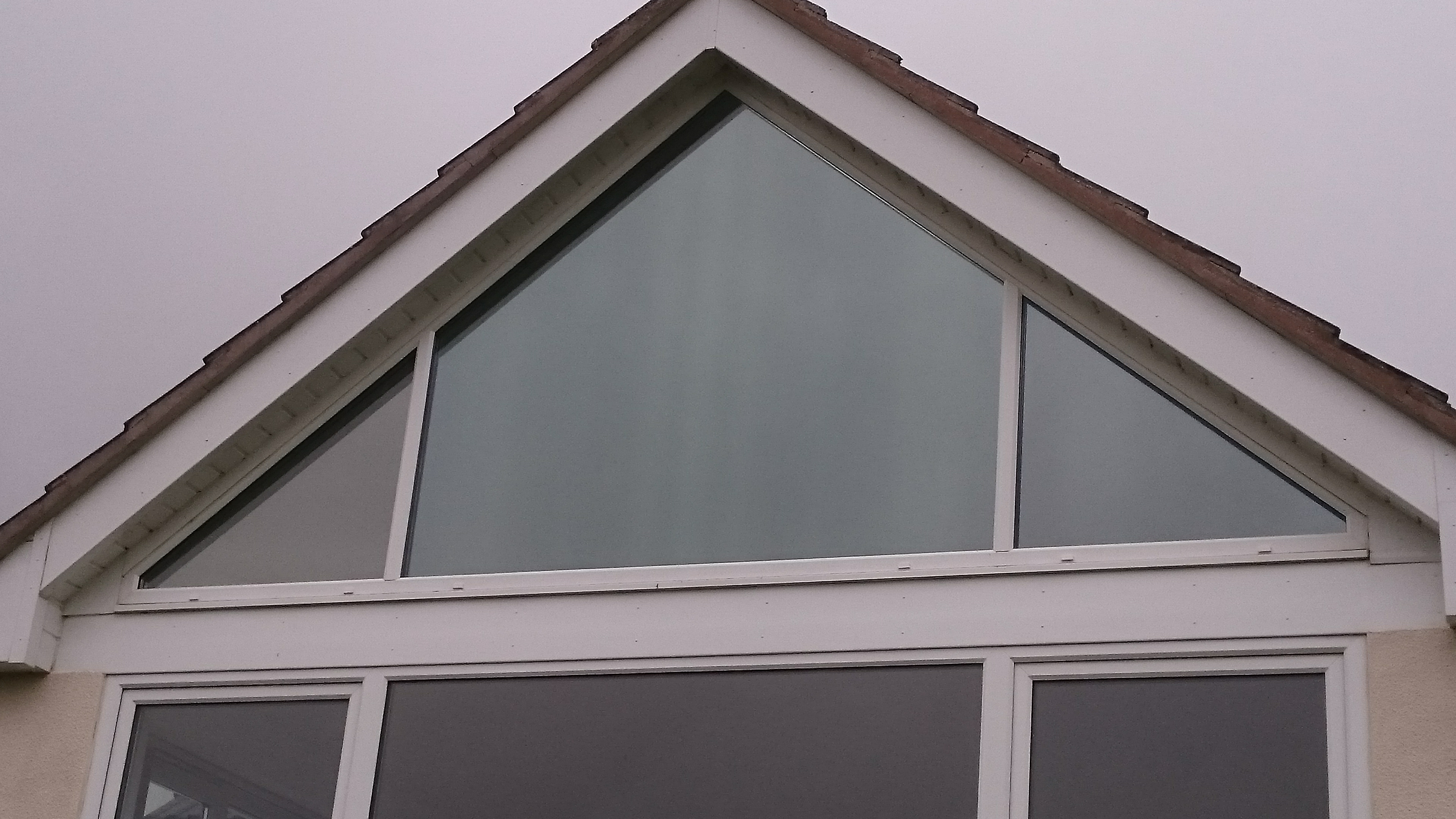 Close up final finished look of a Dual 30 solar window film installation by Tinting Express Barnstaple