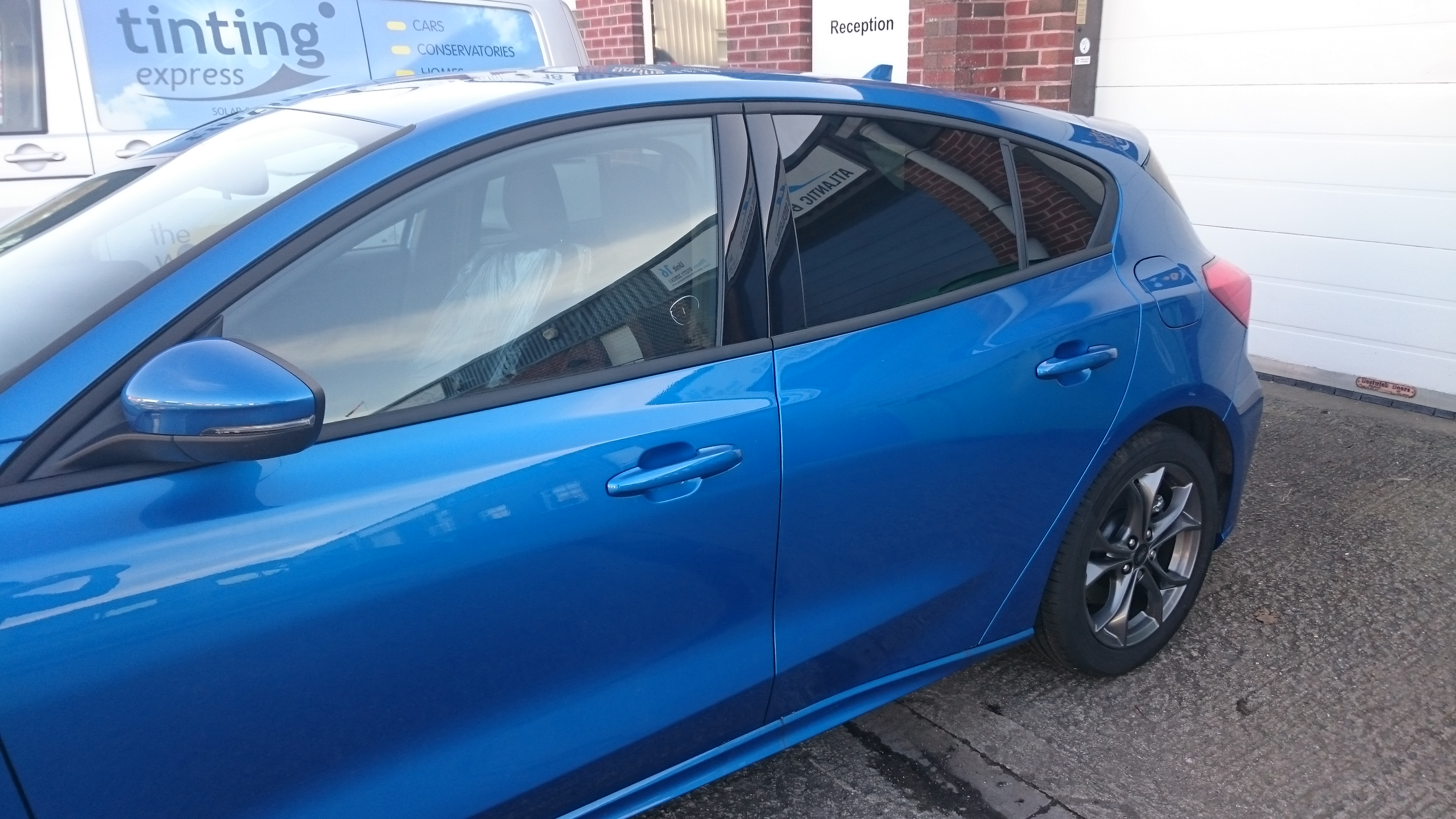 Ford Focus ST 2018 - Privacy level window tint by Tinting Express Barnstaple